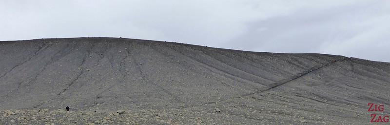 Monter sur Hverfjall Islande cratère Lac Myvatn 1