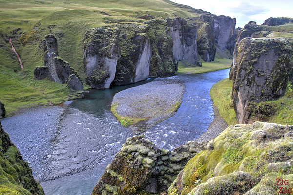 Fjadrargljufur canyon Iceland, photo 3