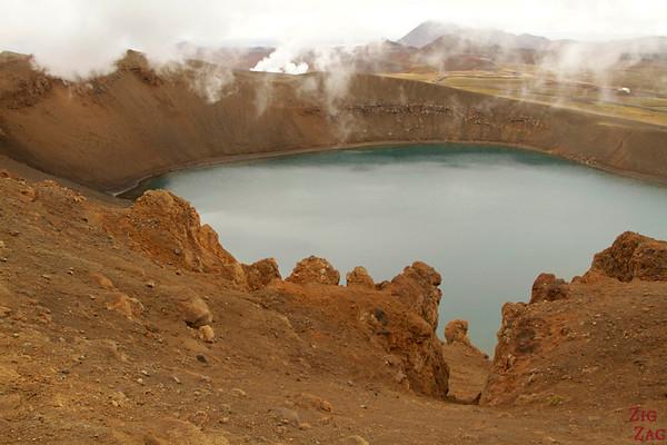 Krafla's Viti crater Lake, North Iceland photo 3