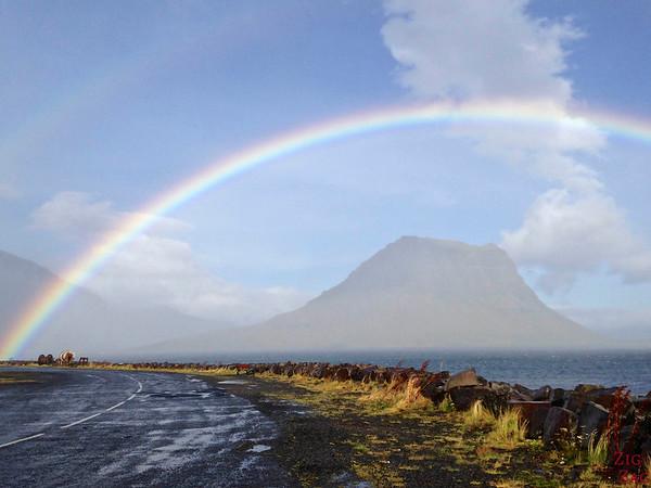 Island Kirkjufell Foto 3