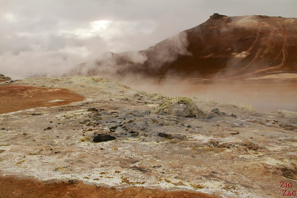 Hverir geothermal area, North Iceland photo 1