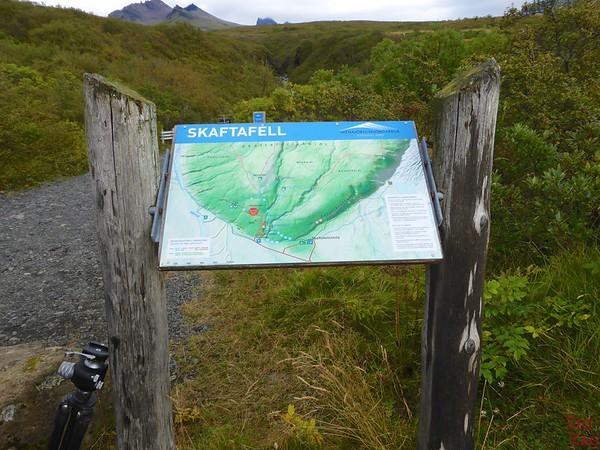 Svartifoss Wanderung Karte