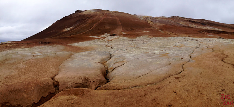 Hverir geothermal area, North Iceland photo 2