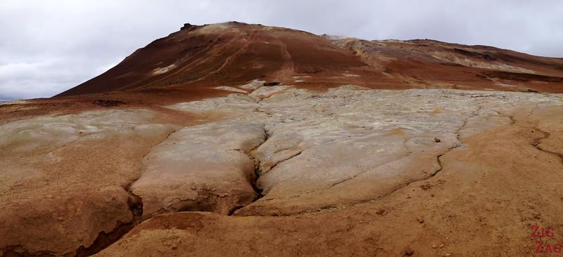 Hverir geothermal area, North Iceland photo 2