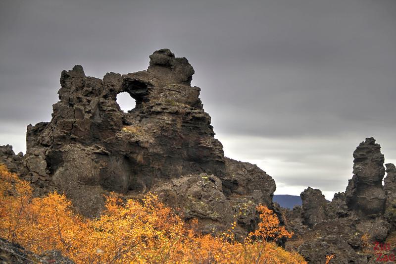 Lac Myvatn Dimmuborgir Islande 2