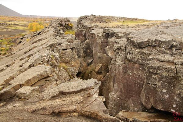Fissure Cave Grjotagja Islande Lac Myvatn 1