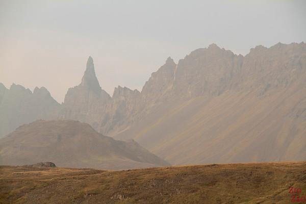 Oxnadalur spire, Iceland