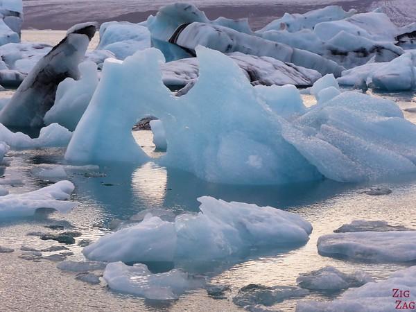 Icebergs au Lagon de Jokulsarlon Islande 2