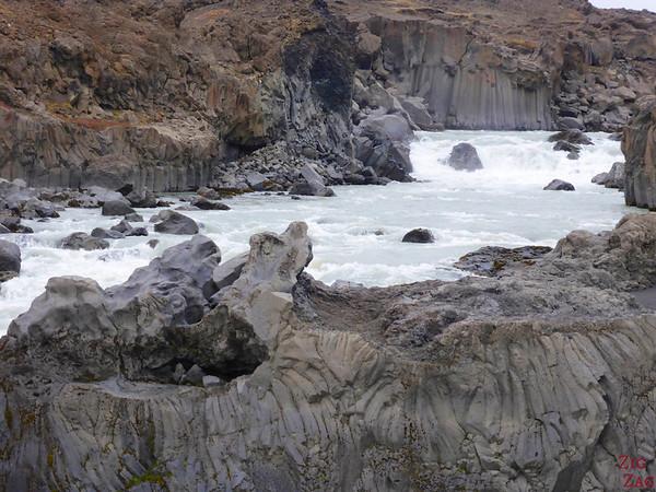 Chutes Aldeyjarfoss Islande 2