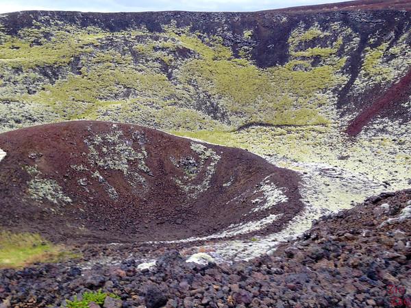 Cratère du volcan Grabrok Islande