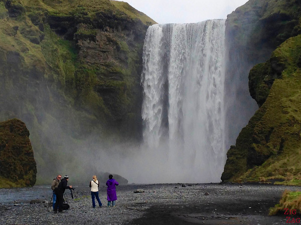 Skogafoss waterfall Iceland from up close 1
