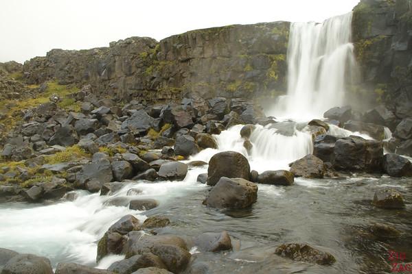 Chutes d'Oxararfoss Islande - Oxarafoss Cascade
