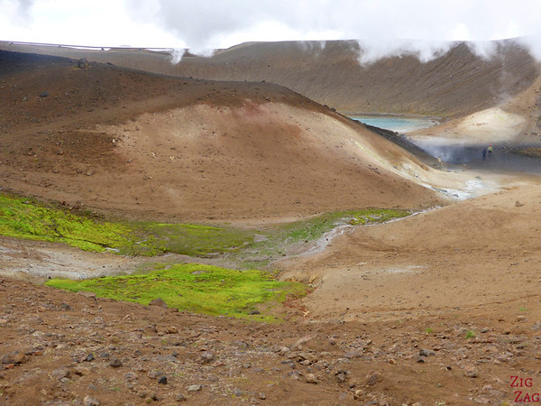 Viti crater rim walk, North Iceland, Photo 4