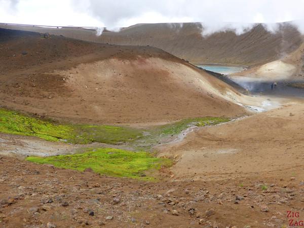 Viti crater rim walk, North Iceland, Photo 4
