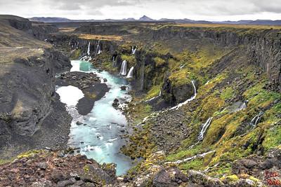 Sigöldugljúfur canyon Iceland