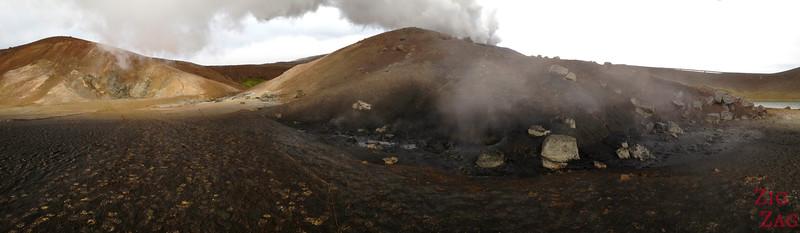 Viti crater rim walk, North Iceland, Photo 2