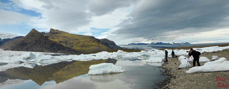 Glacier lagoon of Fjallsarlon in pictures 4