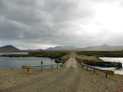 le pont de Berserkjahraun Islande