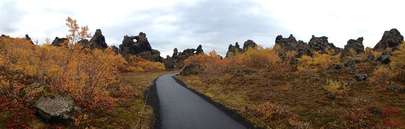 Lac Myvatn Dimmuborgir Islande 1