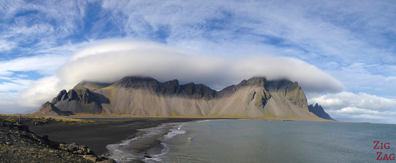 Panorama Vestrahorn photo