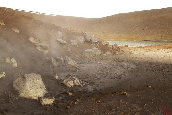 Viti crater rim walk, North Iceland, Photo 3