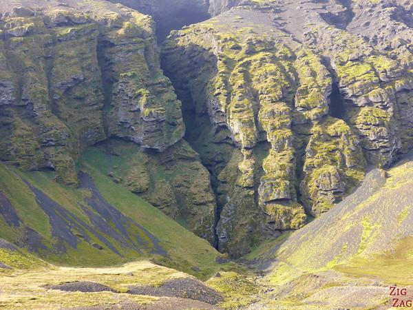 Péninsule de Snaefellsnes Islande - Raudfeldsgja