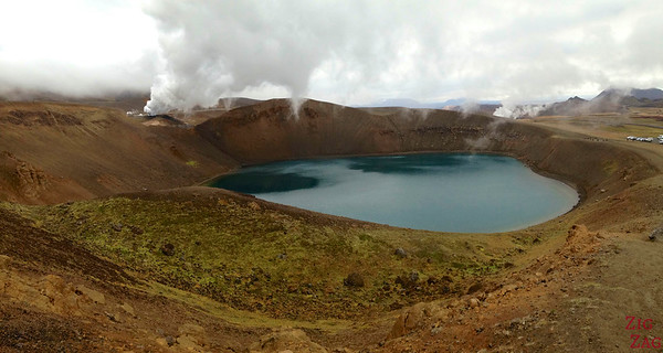 Cratère de Krafla Viti Islande 1
