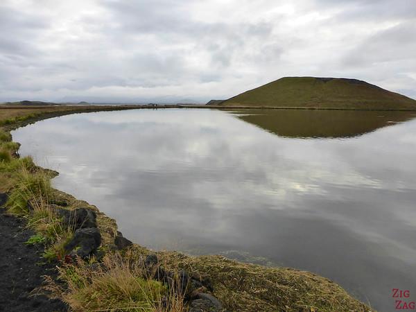 Lake Myvatn pseudo-craters, Iceland Photo 7