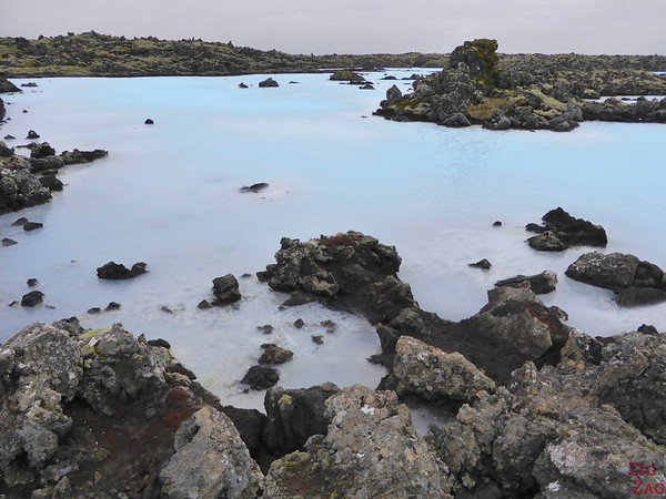 Blue color of the Blue Lagoon