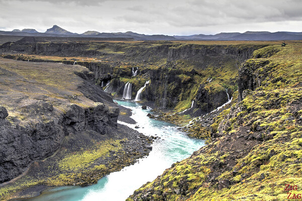 Sigoldugljufur canyon, Iceland Photo 1