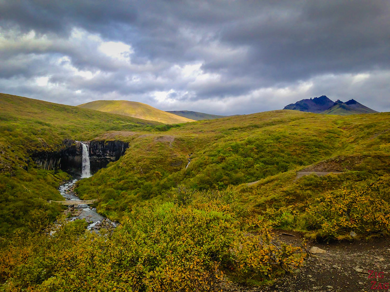 South Iceland things to do - Svartifoss walk
