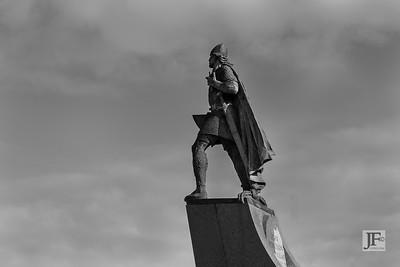 Leif Erikson, Reykjavík