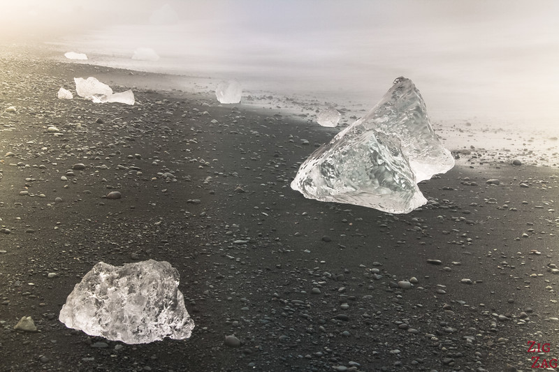 Iceberg on Diamond Beach Photo 1