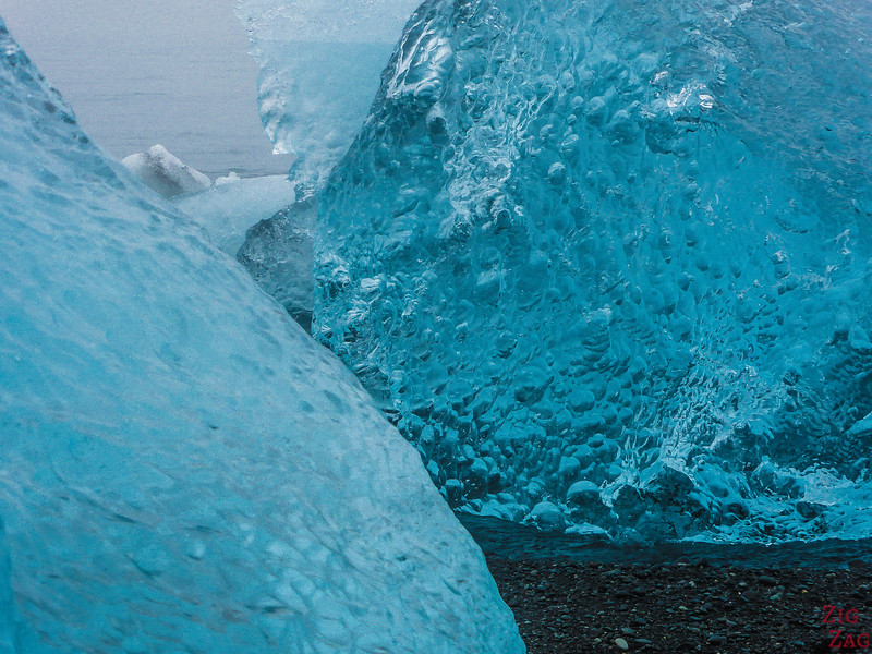Iceberg on Jokulsarlon Beach Photo 3