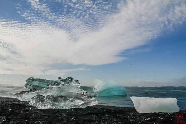 Jokulsarlon Beach Diamond Iceland