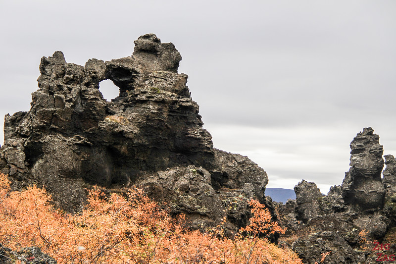 Dimmuborgir - Iceland's lava field of imagination