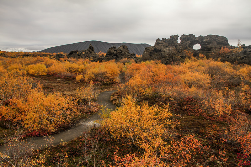 Lac Myvatn Dimmuborgir Islande 3