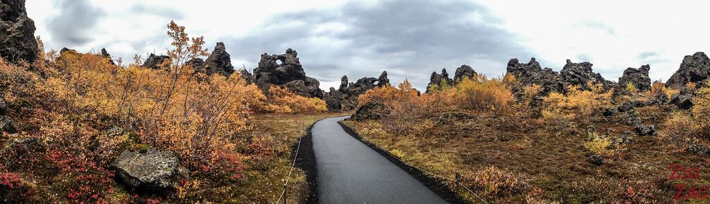 Dimmuborgir Islande
