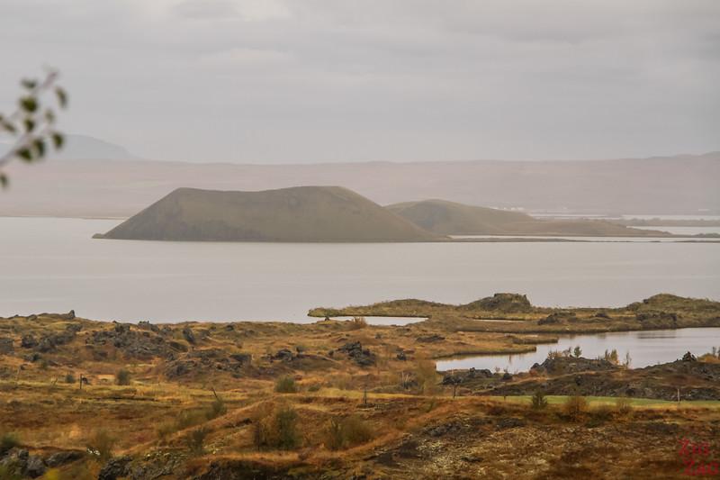 Lake Myvatn Hofdi park Iceland 3