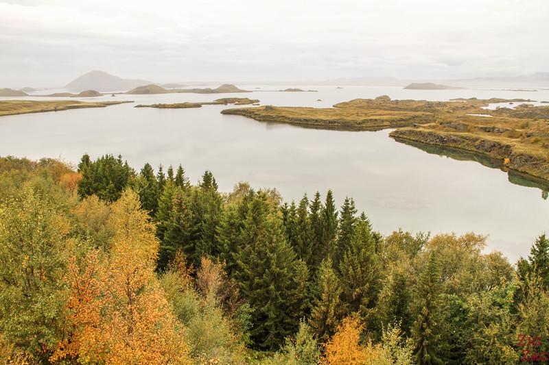 Lake Myvatn Hofdi park Iceland 2