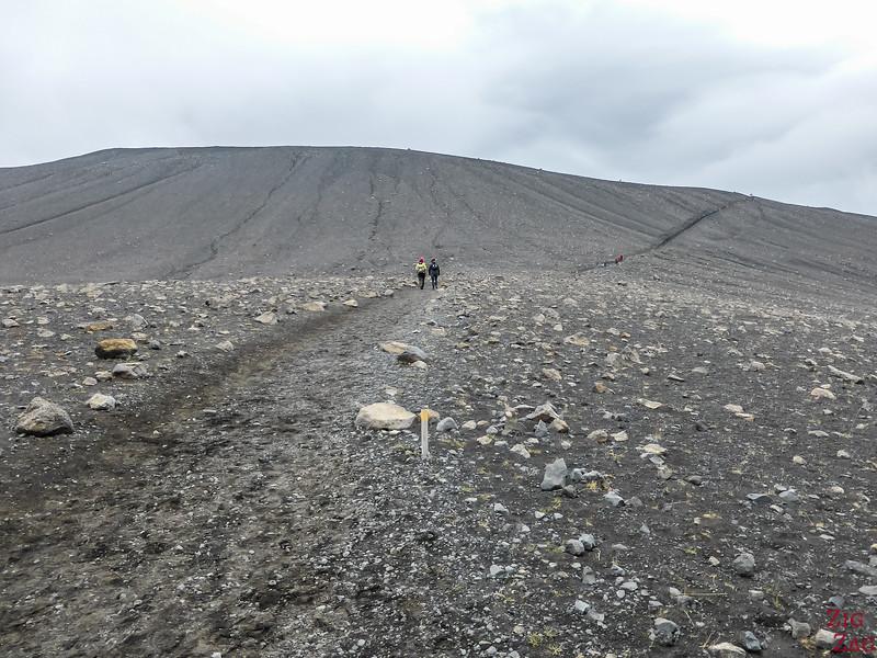 ascension du volcan Myvatn
