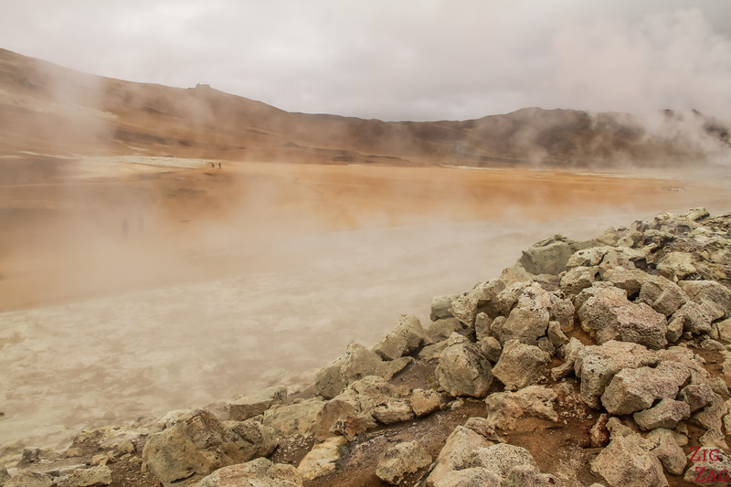 Namafjall Hverir Islande zone geothermale lac Myvatn 4