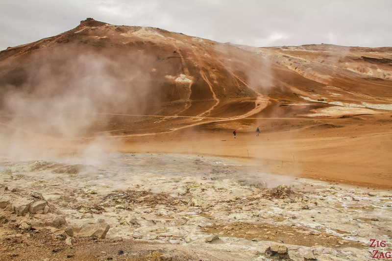 Hverir Islande