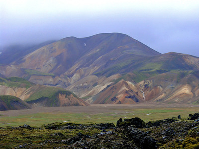 Hiking at Landmannalaugar
