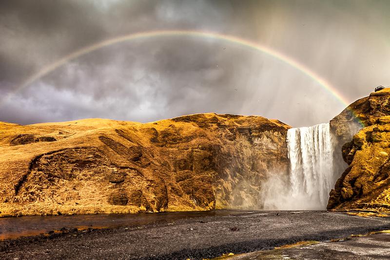Skógafoss: Under The Rainbow