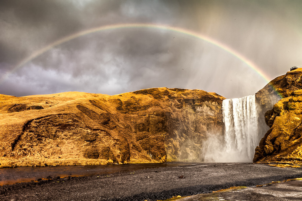 Skógafoss: Under The Rainbow