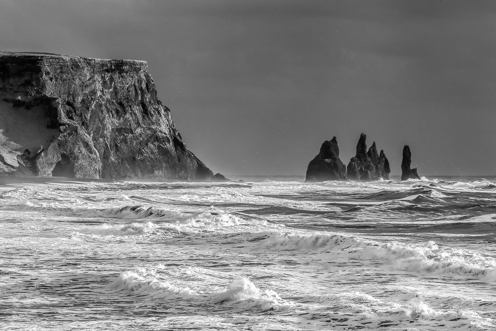 Vik Sea Stacks