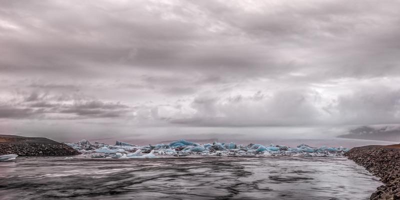 Glacier Ice Jam