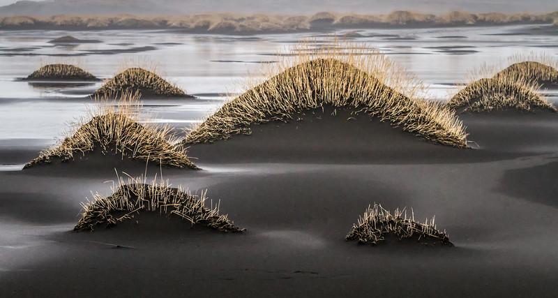Volcanic Black Sand Dunes of Stokksnes