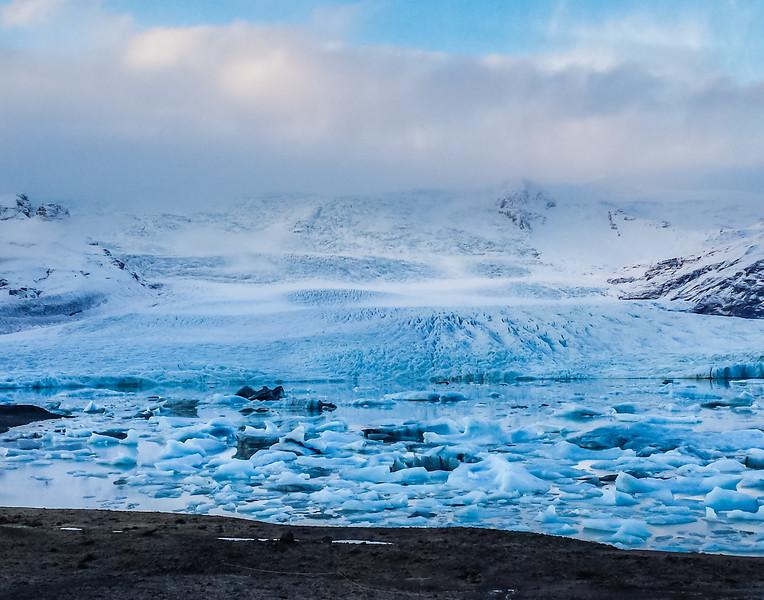 Glacial View - Fjallsárlón Glacier Lagoon